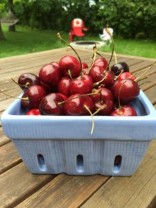 Cherries in quart